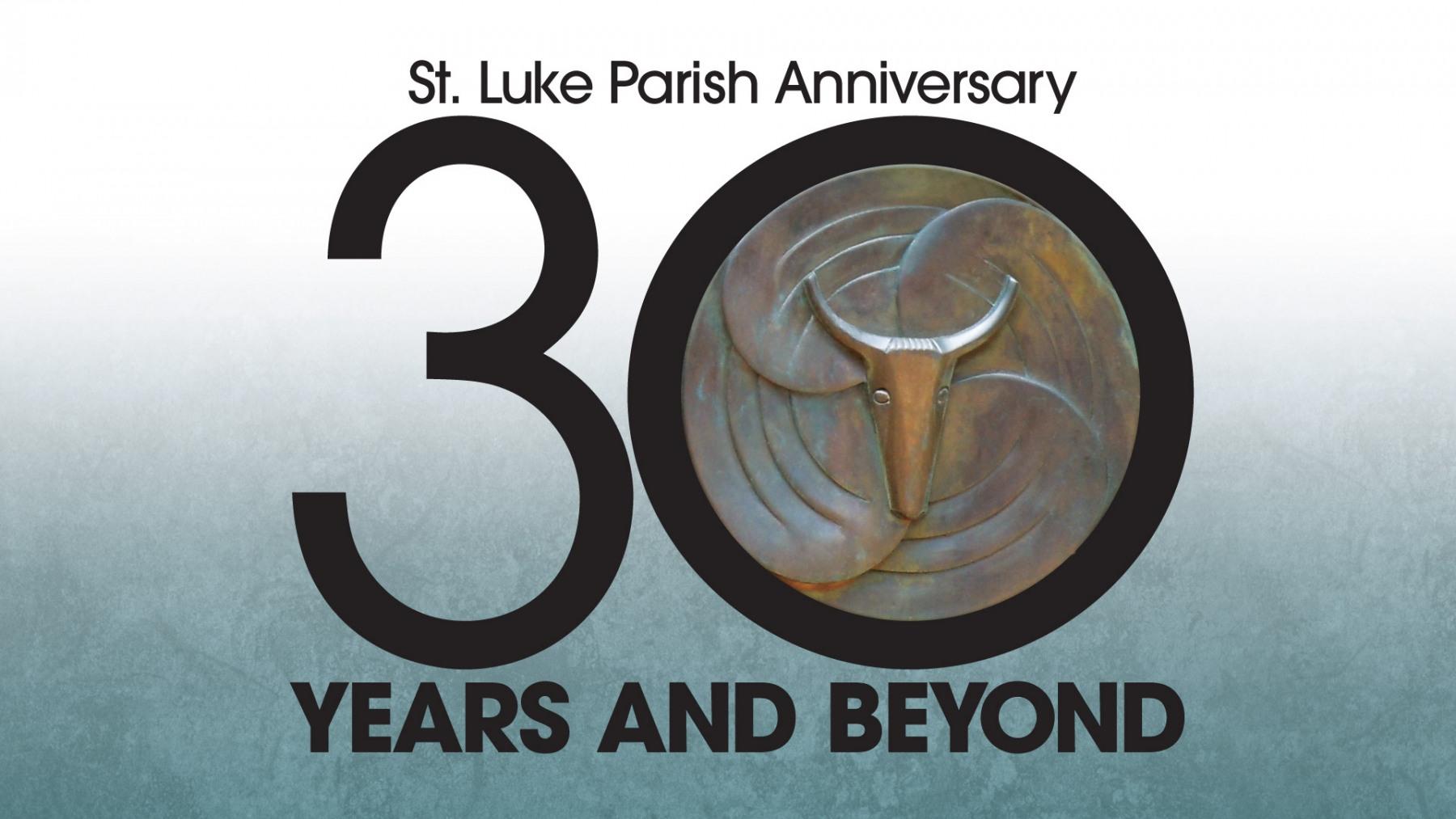 ST. LUKE PARISH 30TH ANNIVERSARY LOGO