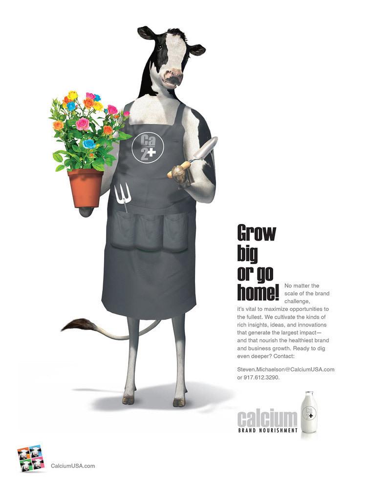 Gardener Cow