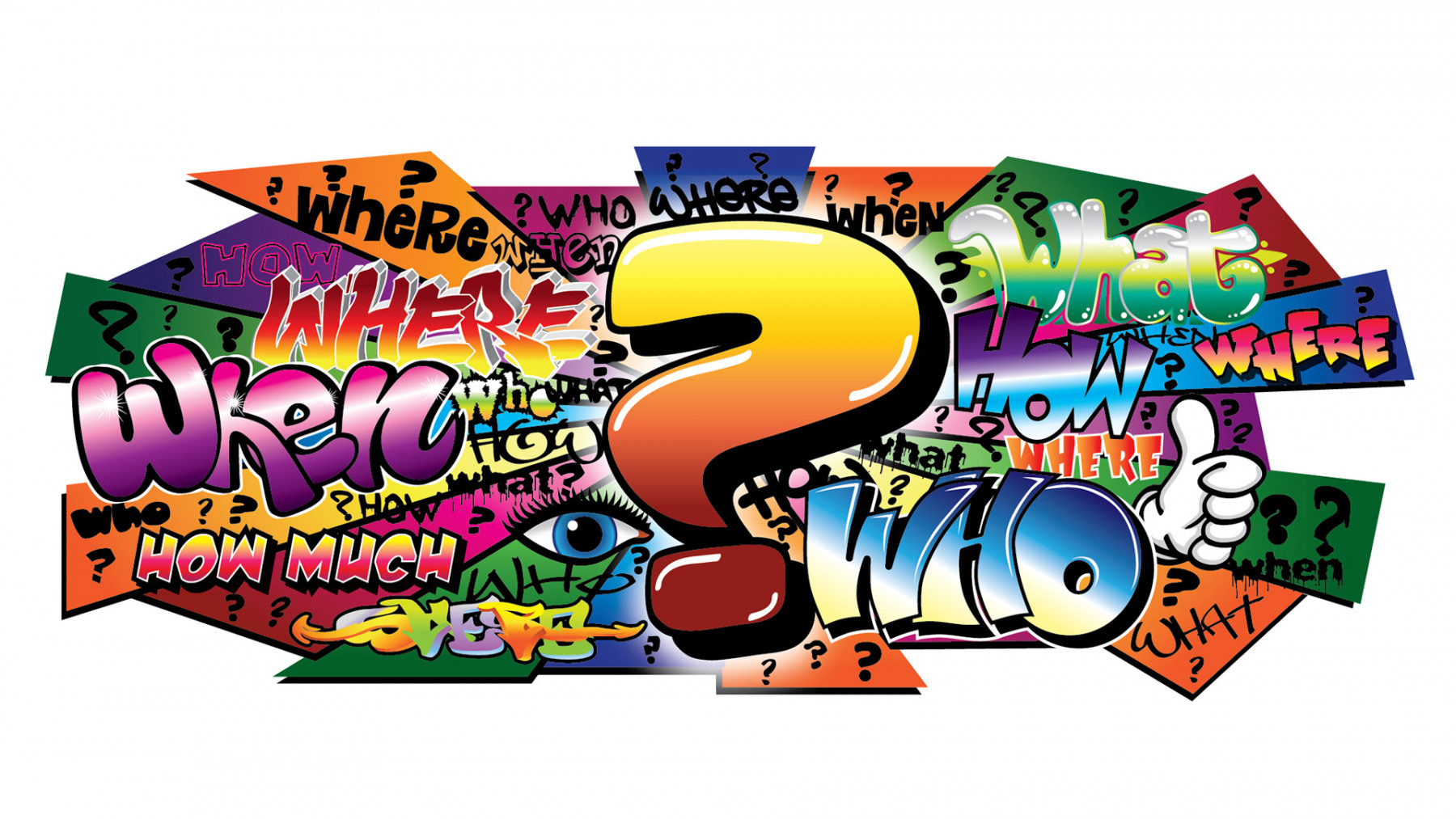 Q-MARK GRAFFITI ILLUSTRATOR IMAGE