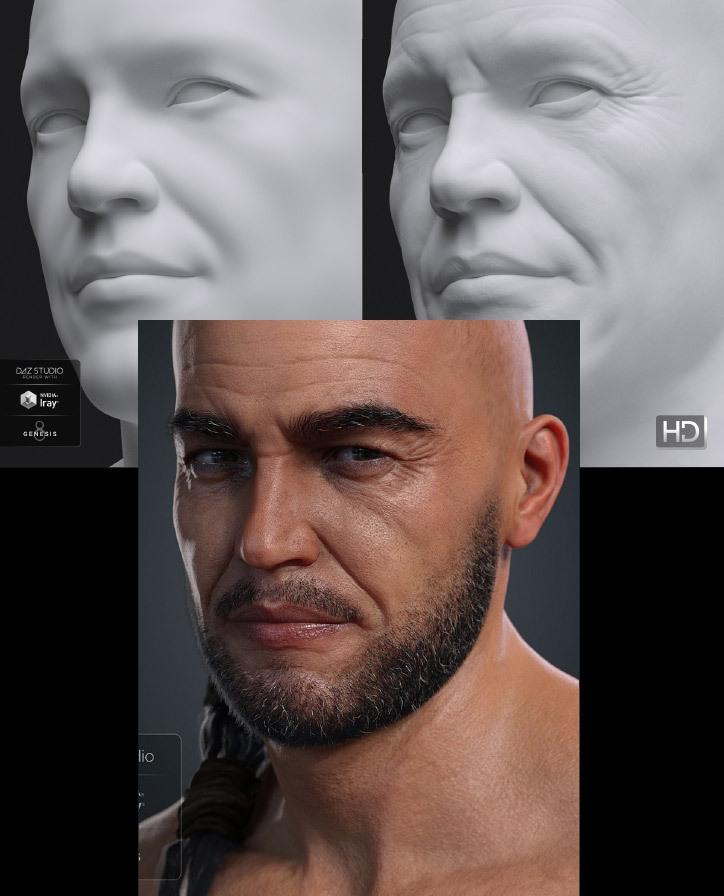 Vladimir with High Def. Skin